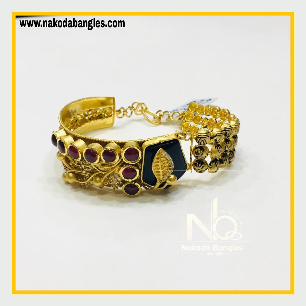 916 Gold Antique Bracelet NB - 566