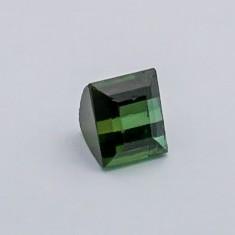 4.765ct square green tourmaline