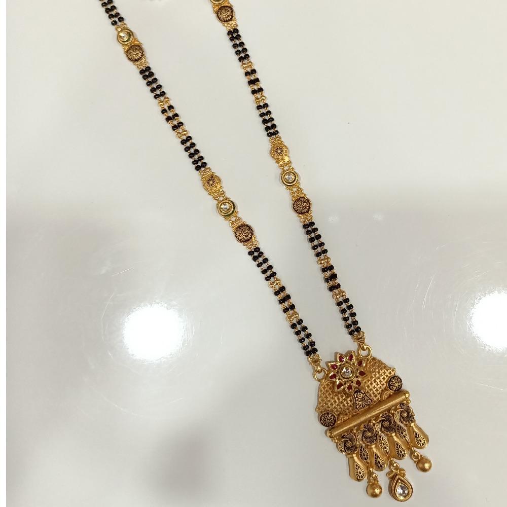 916 GOLD LONG RAJWADI MANGALSUTRA