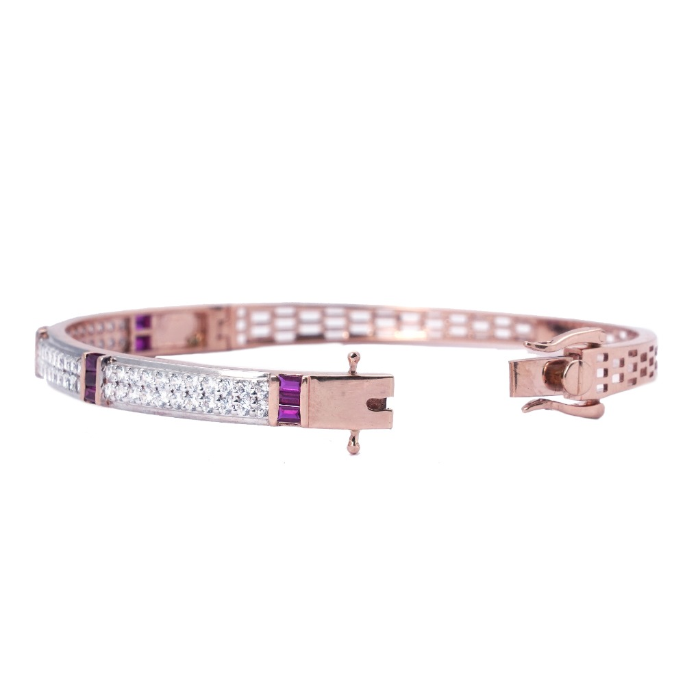 916 Gold Modern Design Bracelet