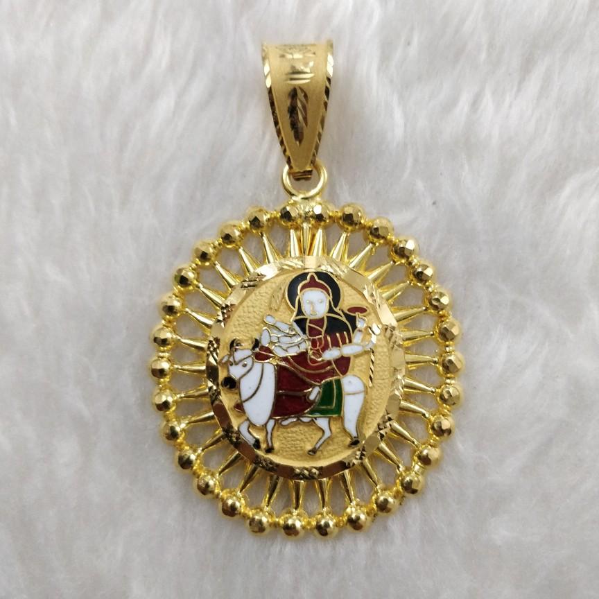 916 Gold Umiya Maa Pendant