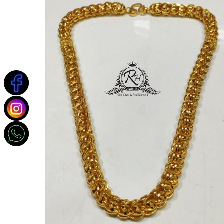 22 carat gold traditional chain RH-CH567
