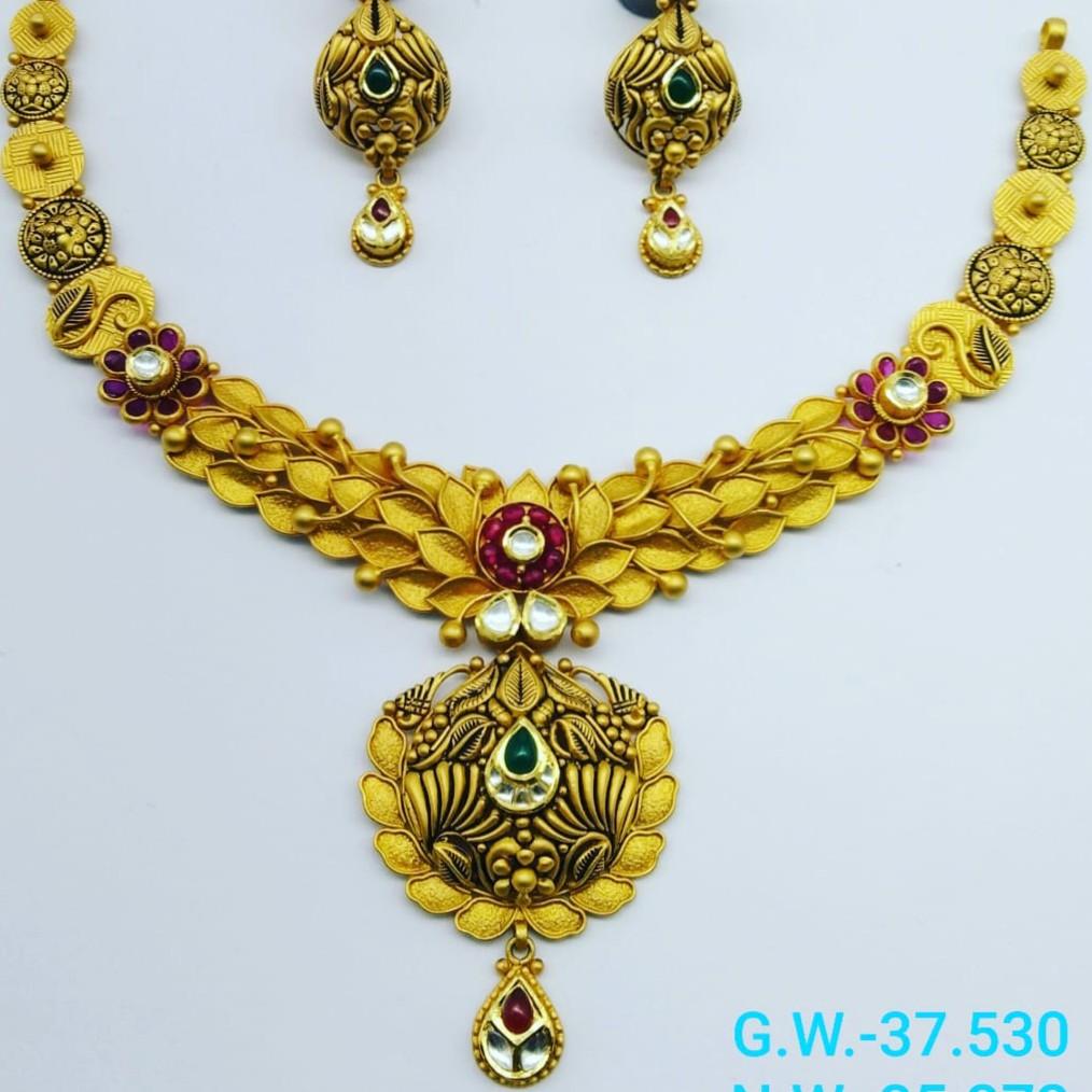 22 gold bridal set