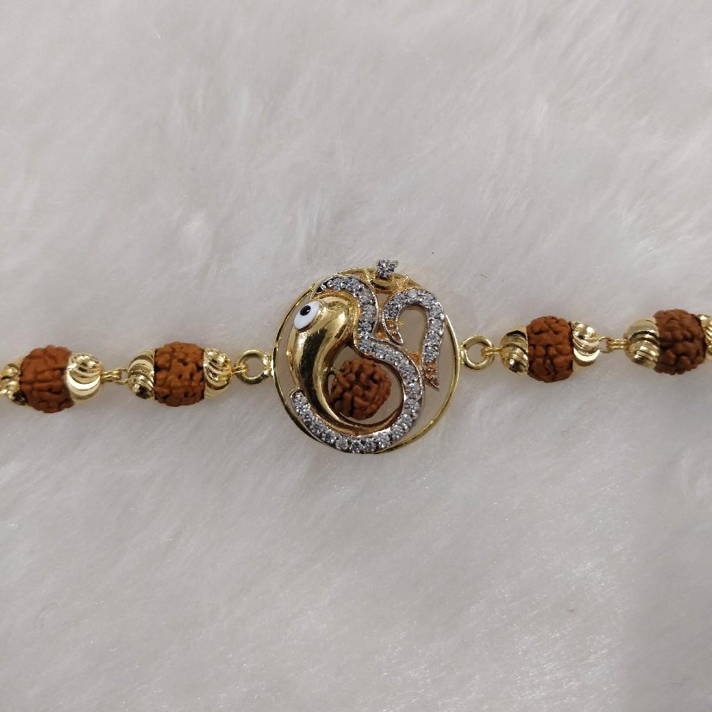 916 Gold Fancy Gent's Rudraksh Lucky