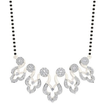 Buy hallmark diamond mangalsutra at royalediamods.com in pune