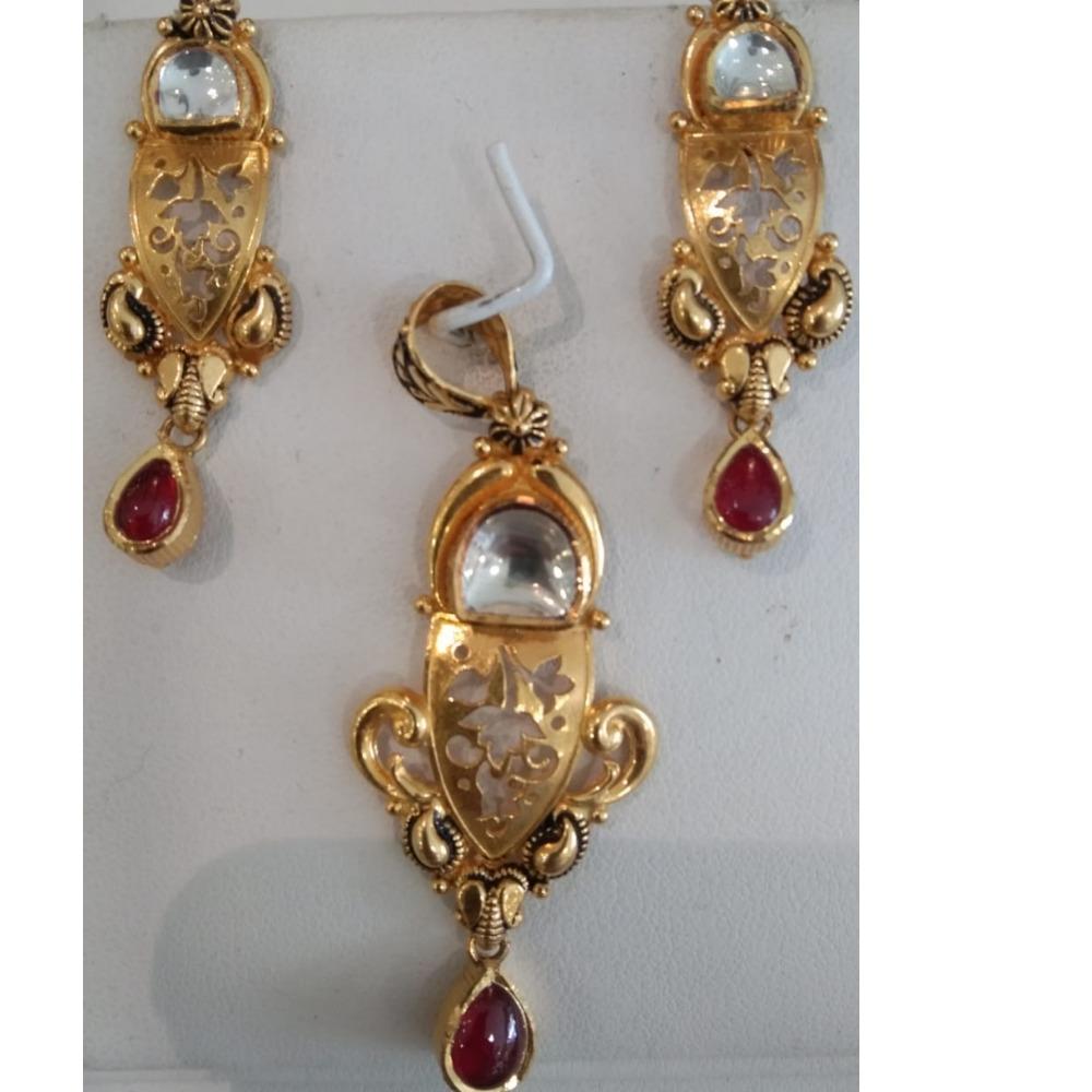 916 Hallmark Gold Classic Pendant Set