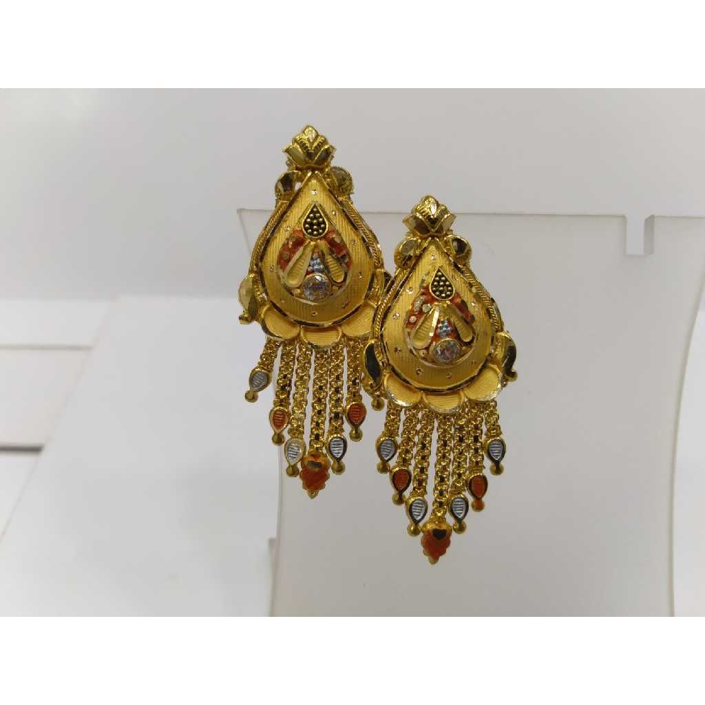 760 Gold Fancy Bhunali Butti RJ-B076