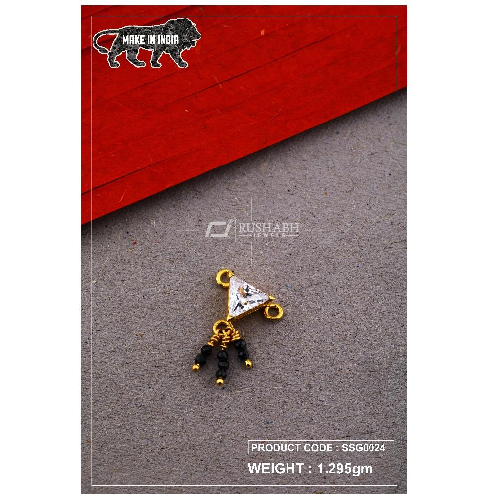 22 Carat 916 Gold Ladies singal stone msp smg0024