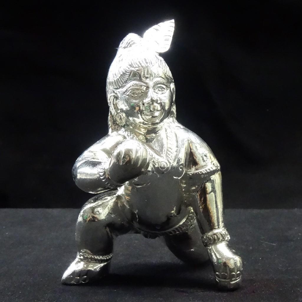 silver bal gopal murti