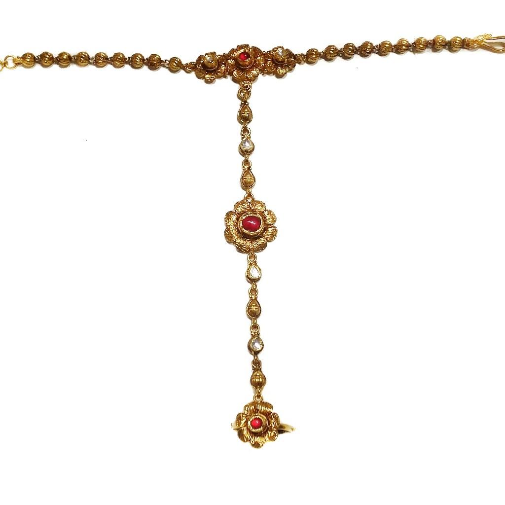 22k gold antique pocho mga - gp0015