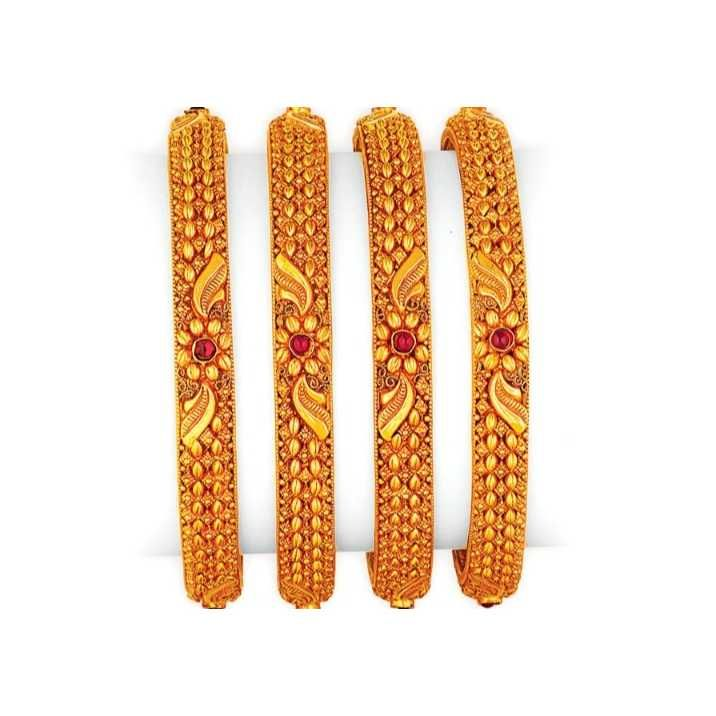 22 CT Fancy Bangle