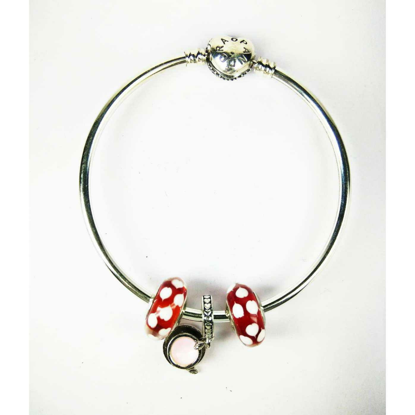 Unique 925 Silver Ladies Kada Bracelet