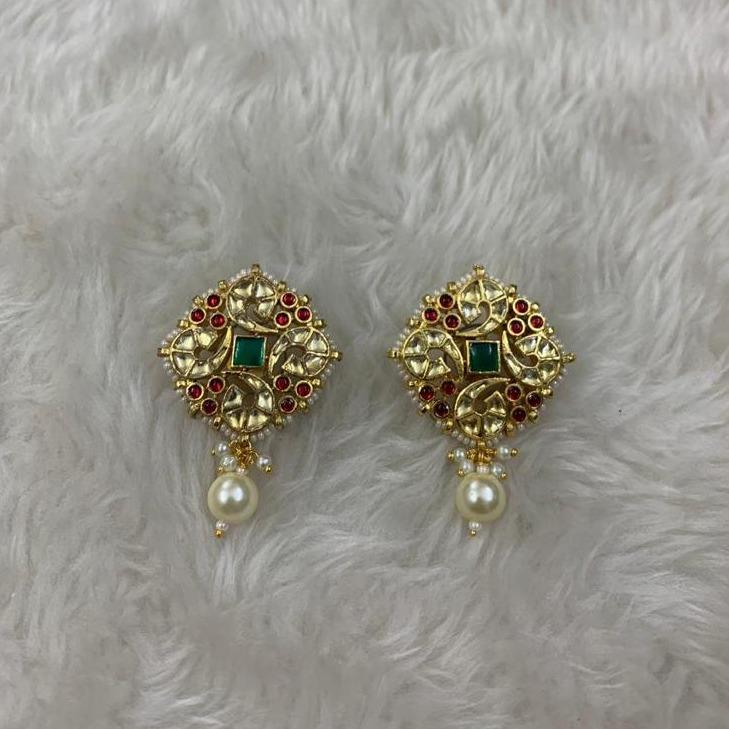 Designer Flower Design Earrings