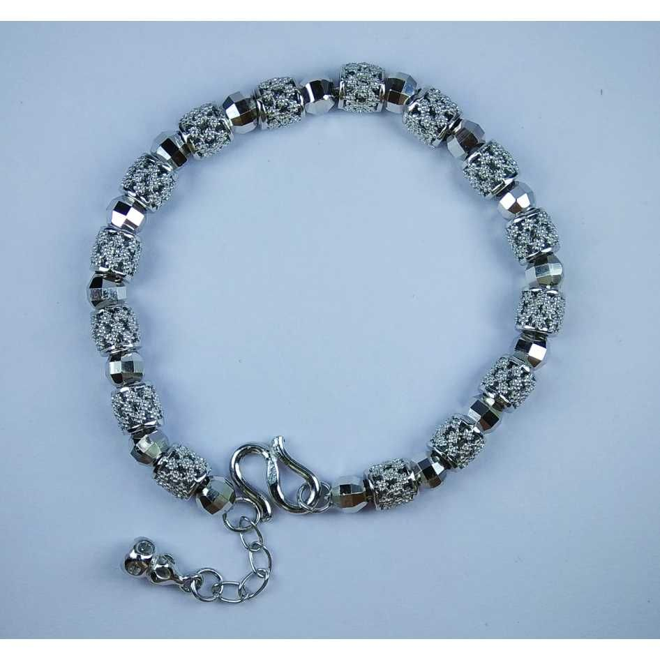 925 Sterling Silver Modern Ladies Bracelet