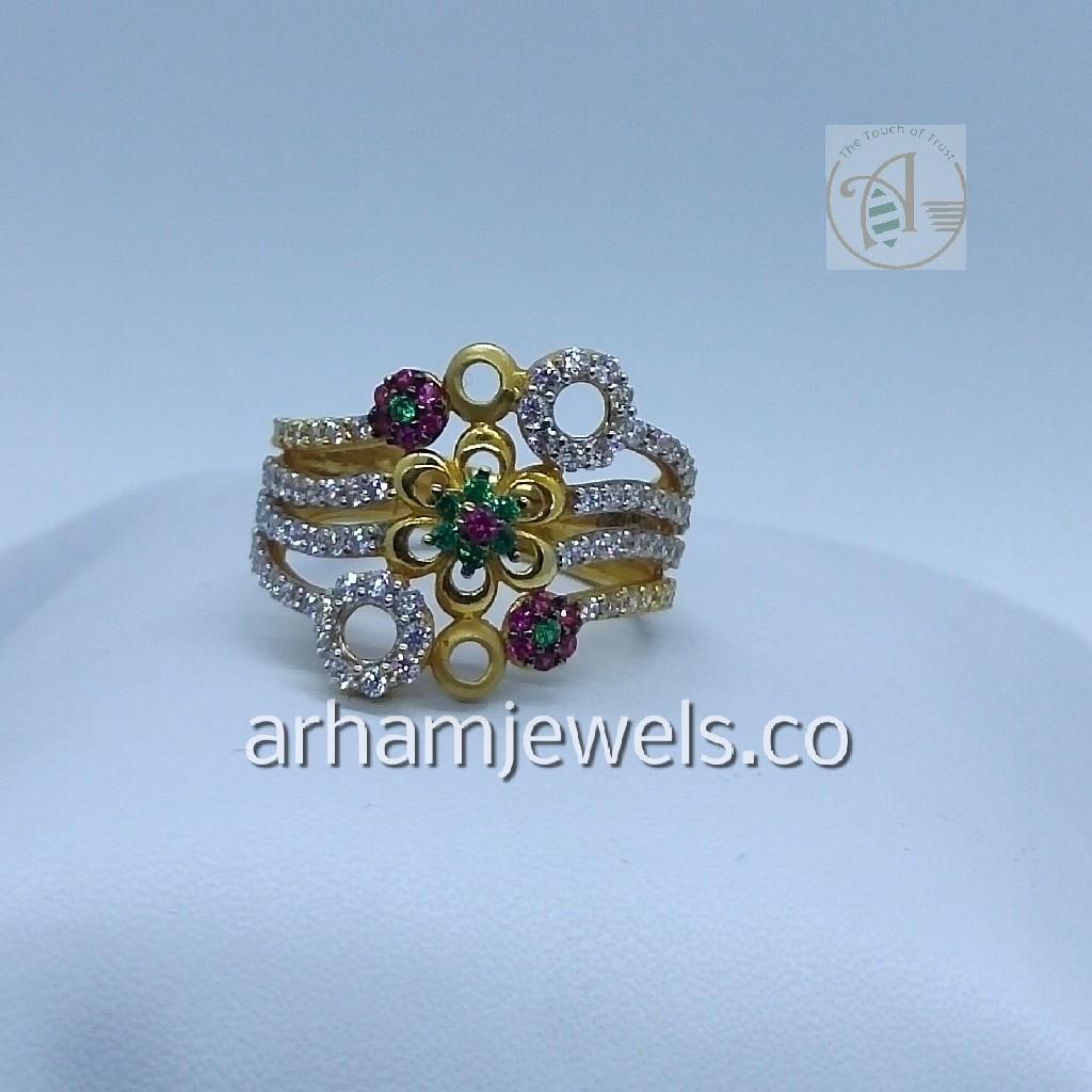 916 gold ladies ring RGG0112