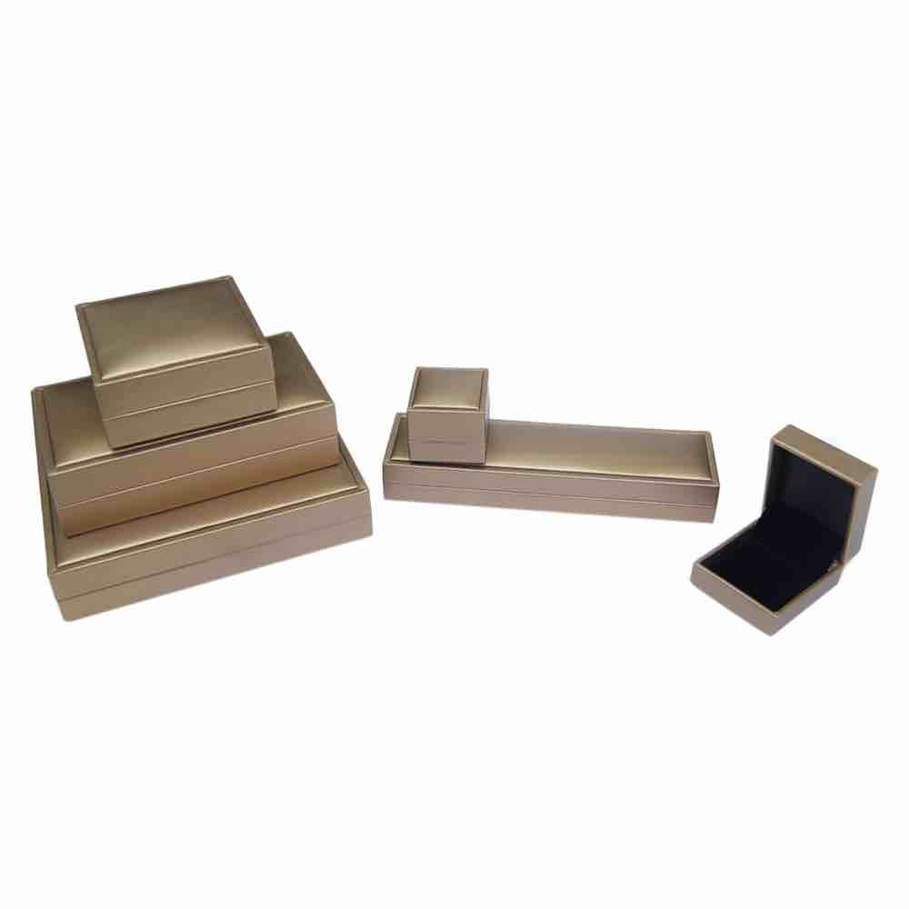Frost gold jewellery box