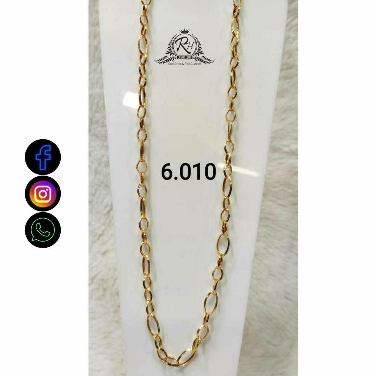 22 Carat Gold Gents Chain RH-CH780