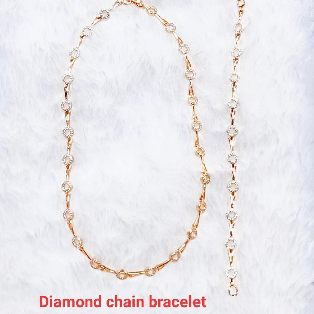 Dimond cahin bracelet