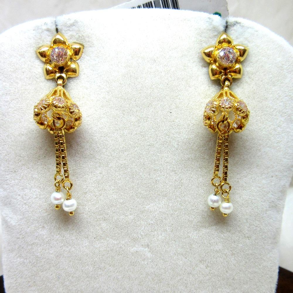 Gold Mini Jummar Earring