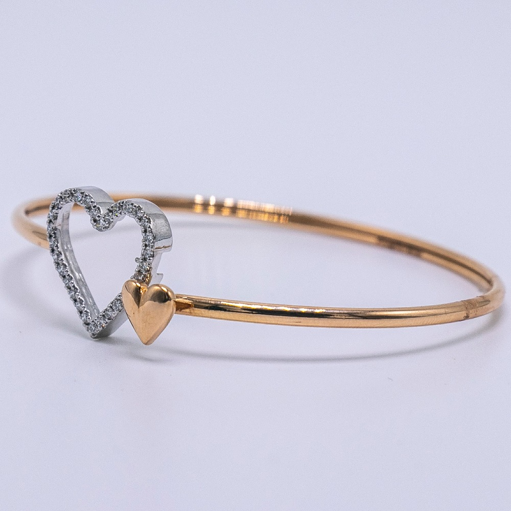 18K gold diamond bracelet  agj-br-59