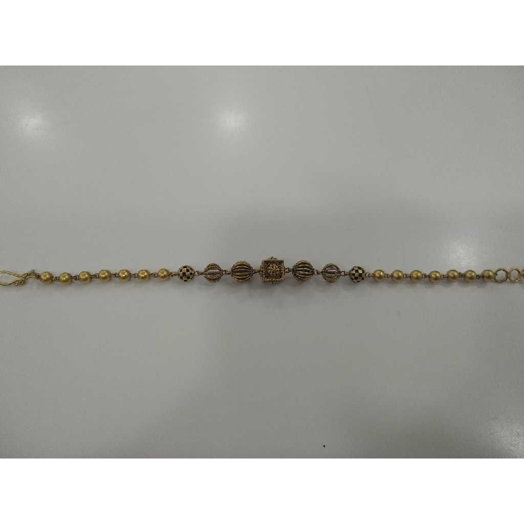 22 KT Gold Stylish  Loose Bracelet