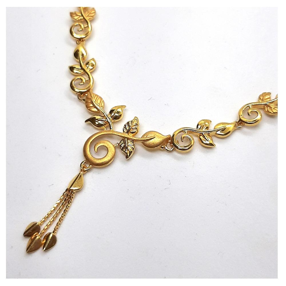 Plain Gold Necklace SK-N001