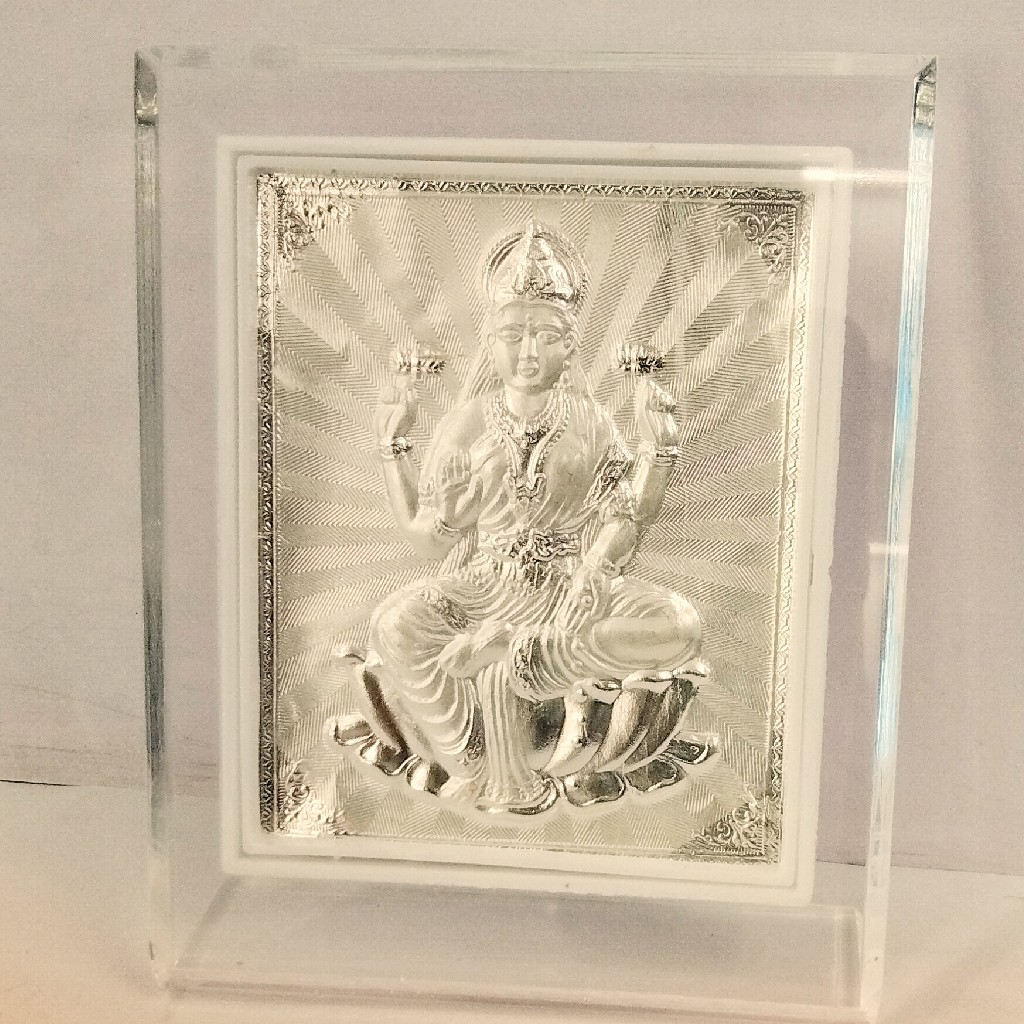 999 Silver Laxmiji Frame For Gift