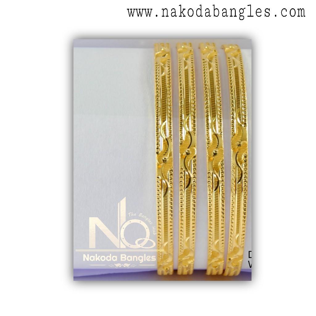 916 Gold Khilla Bangles NB - 1382