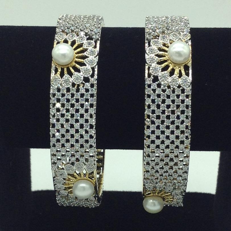Pearls CZ FancyBangles JBG0311