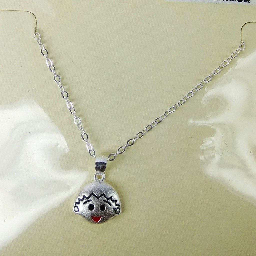 92.5 sterling silver chain with pendant ml-52
