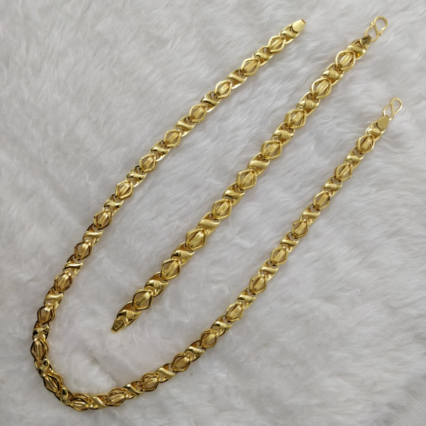 916 Gold Indo Italian Gent's Chain-Lucky