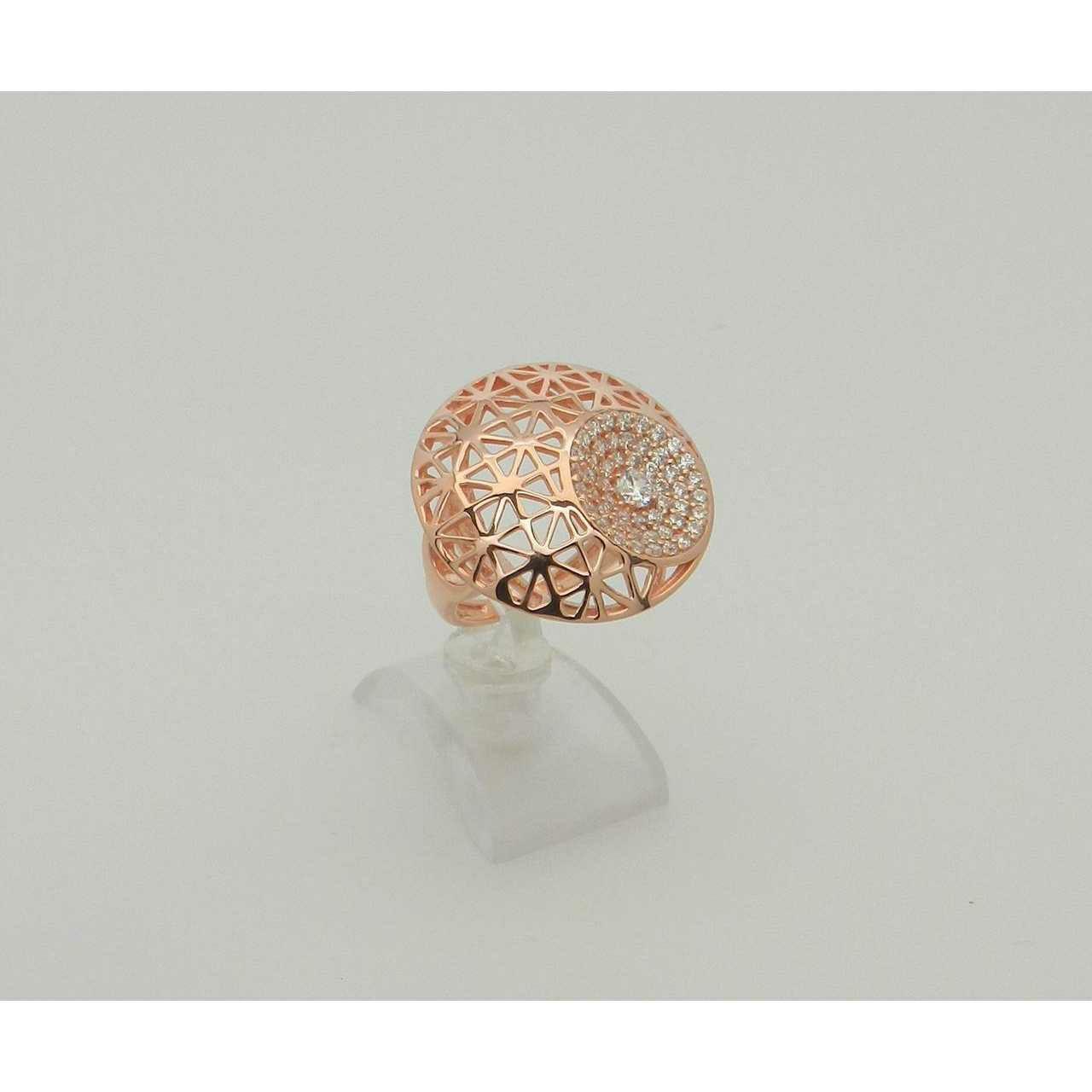 92.5 Gold Finish Premium Ring Ms-4051