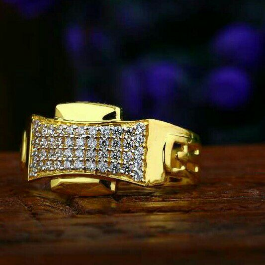 Exclusive Cz Gents Ring