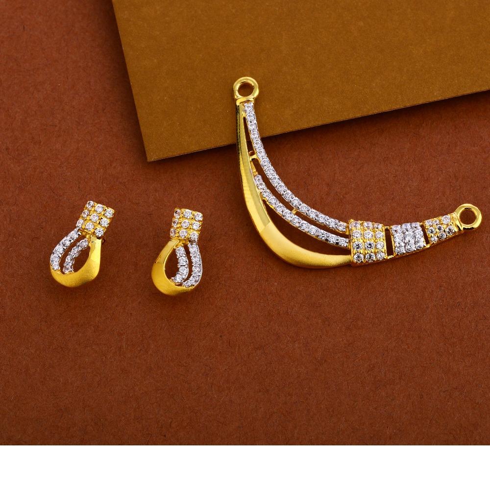 22KT Gold Ladies Exclusive  Mangalsutra Pendant MP252