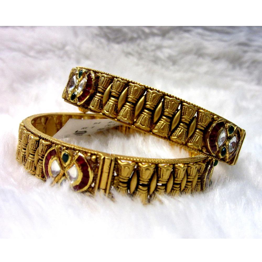 Gold Hallmark heritage women bangles