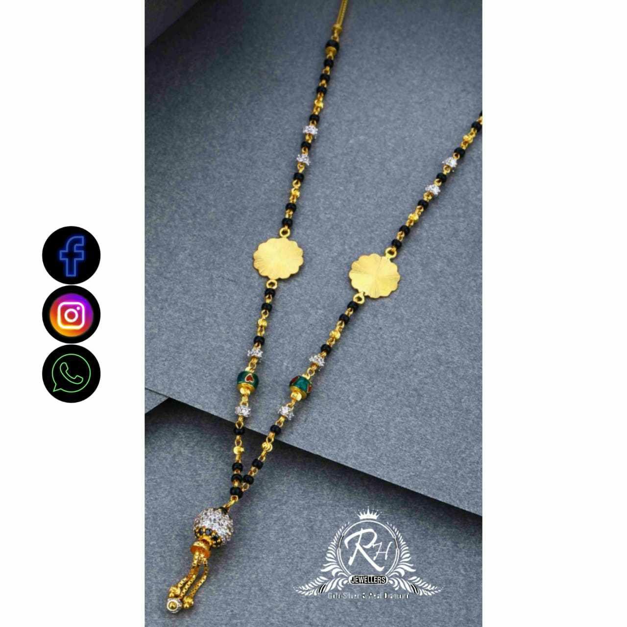 22 Carat Gold Traditional Mangalasutra RH-LM703