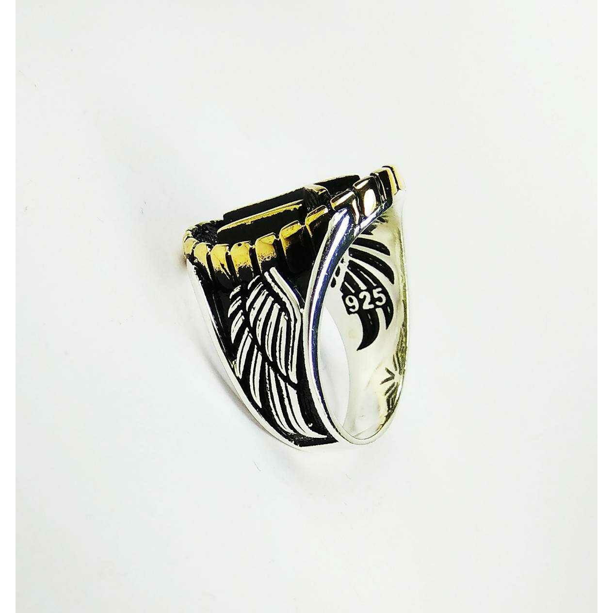 Fancy 925 silver gents turkish rings