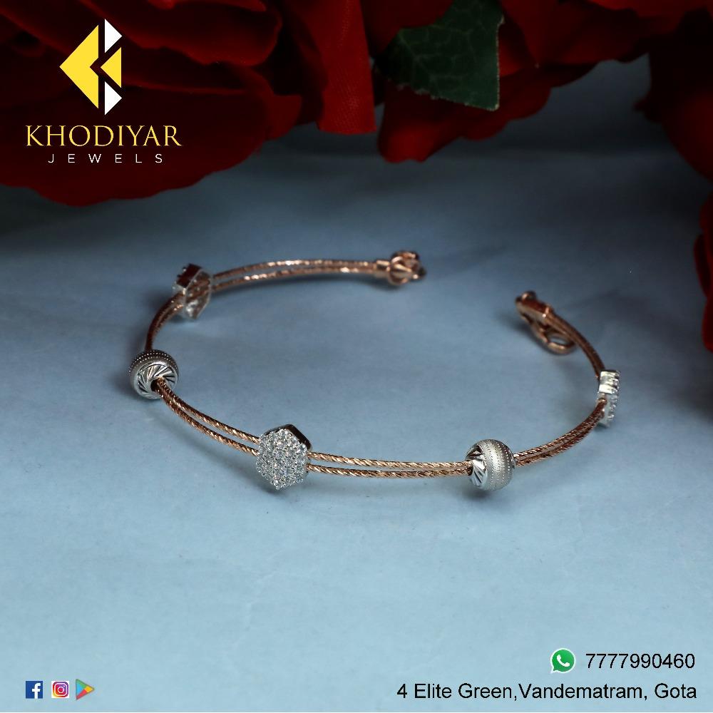 916 Gold Delicate Bracelet KJ-B014