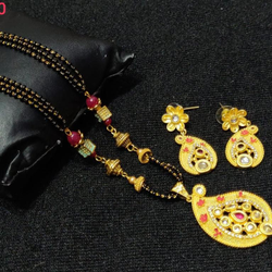 Gold mangalsutra And Pendal