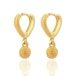 DESIGNED GOLD EARRINGS