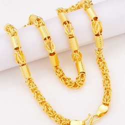 DESIGNED  GOLD GENTS CHAIN