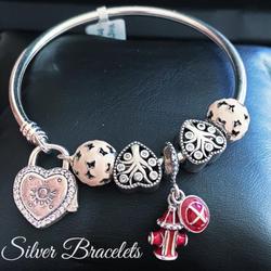 Silver Bracelates