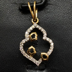 REAL DIAMOND FANCY PENDANT