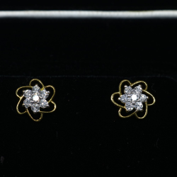 Diamond earings