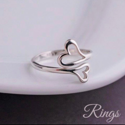 Silver Ladies Rings