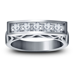 925 STERLING SILVER GENTS RING