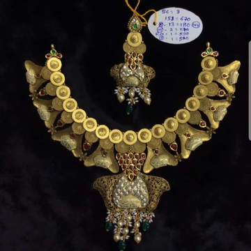 Antique Jadtar Necklace Set