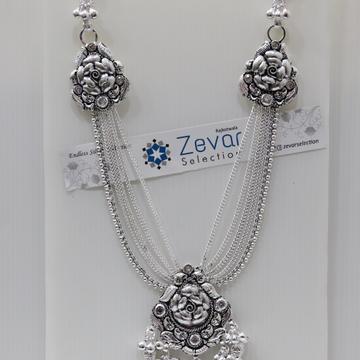 Silver Antique Double/Triple Hook Judas (Mekla) by Zevar Selection