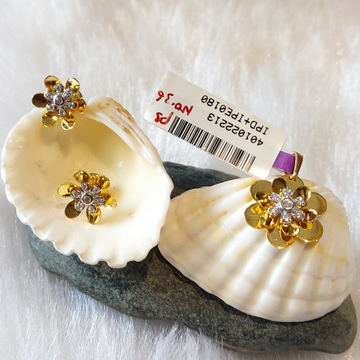 Diamond Pendant Set by