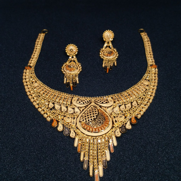 Gold plain Set by Zaverat